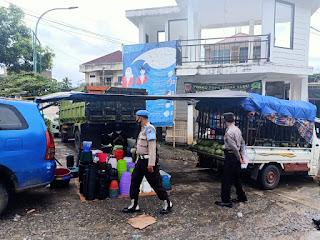 Operasi Penegakan Disiplin Protokol Covid-19 di Pasar Sudu Kelurahan Kambiolangi Kecamatan Alla