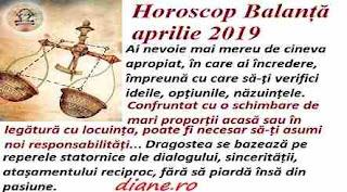 Horoscop aprilie 2019 Balanță