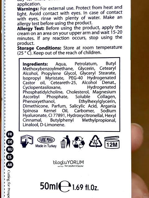 dr clinic cilt kusursuzlaştırıcı leke kremi içerik