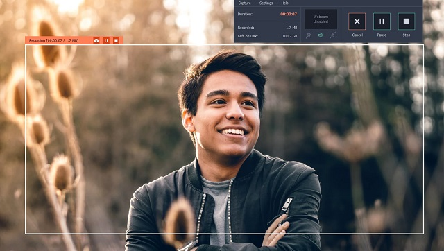 Grabbing Videos From Websites Using Movavi Screen Recorder