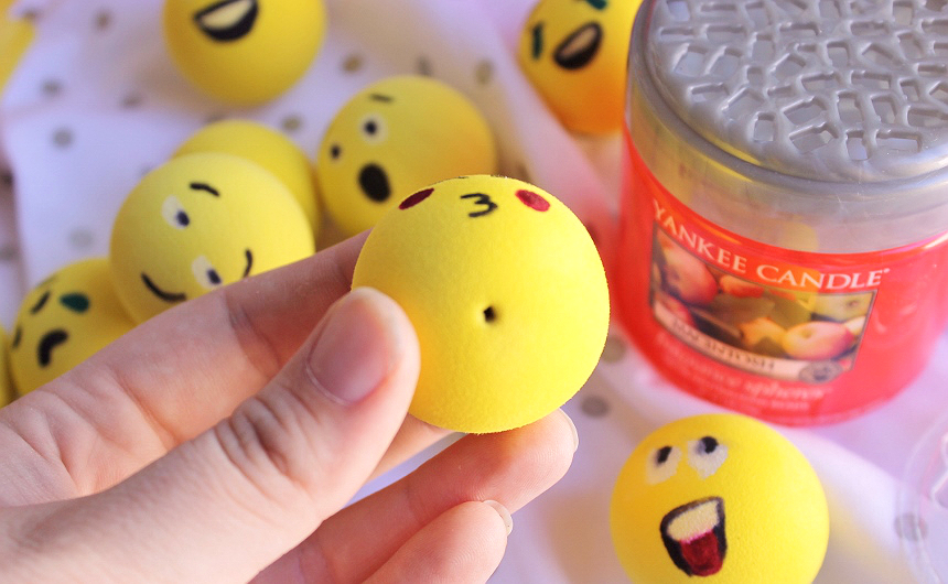 Momma Told Me: Fun Gifts For Car Owners- D I Y  Emoji Antenna Ball