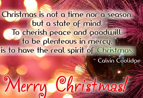 Merry Christmas Quotes Pictures