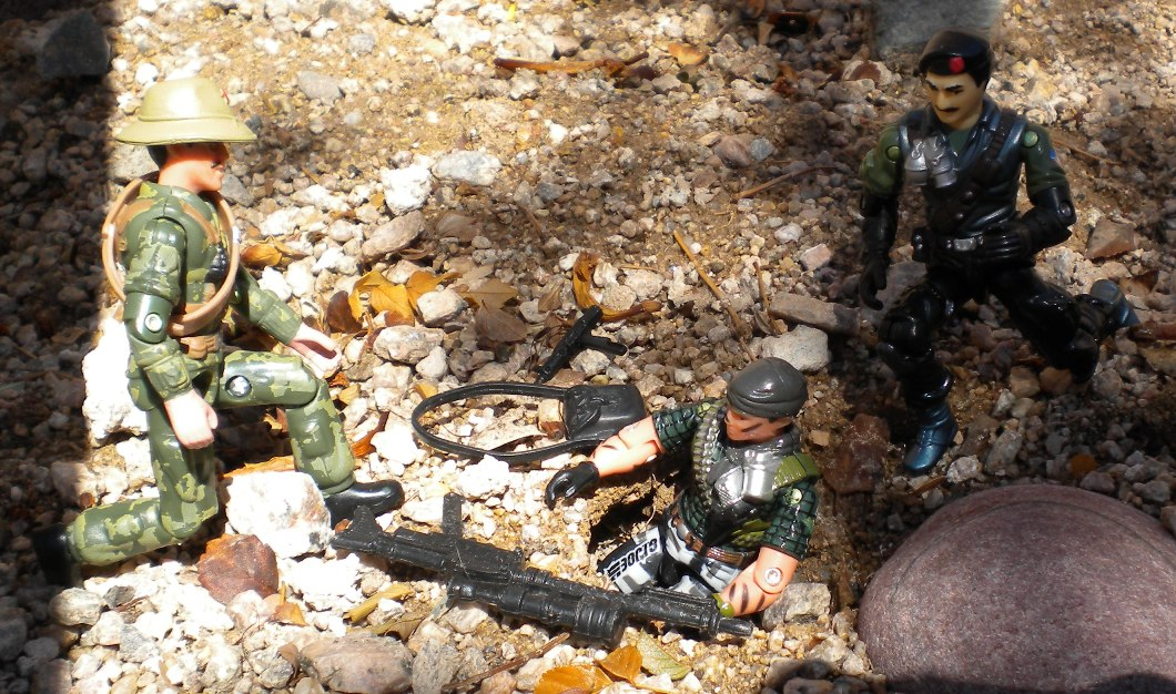 2004 Night Force Tunnel Rat, Toys R Us Exclusive, 2002 Dial Tone, Lt. Gorky, Oktober Guard