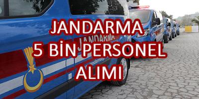 Jandarma 5 Bin Personel Alımı 2021 - SON GÜNLER !