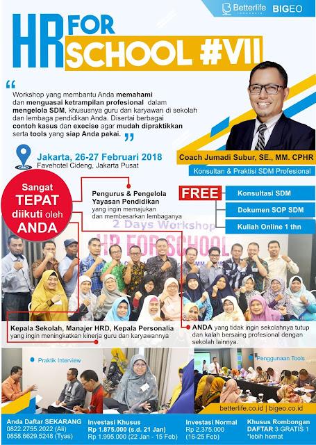 Manajemen SDM Sekolah - HR for School