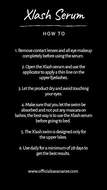 30 DAY CHALLENGE WITH THE XLASH EYELASH SERUM HOW TO