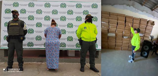 hoyennoticia.com, Casa de una mujer en Maicao, era una bodega para cigarrillos de contrabando