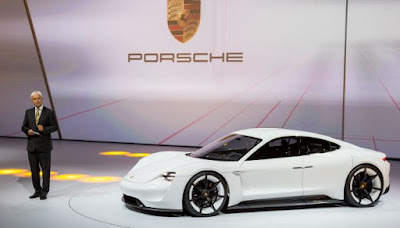 Production version Porsche Mission E will be in is About 85,000 USD