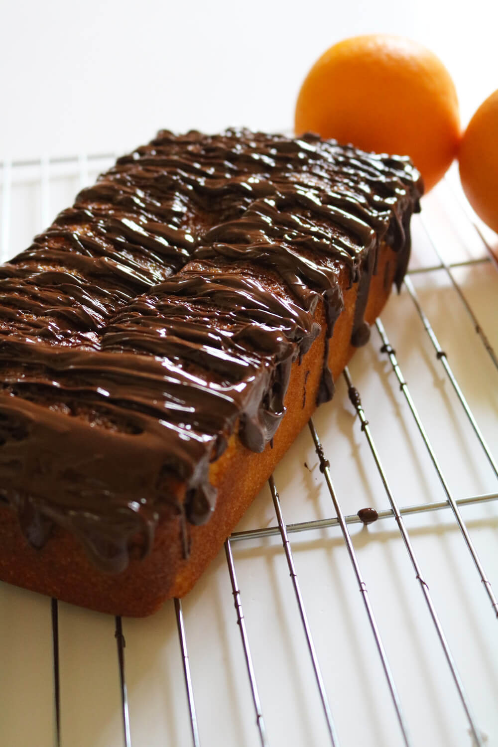 Chocolate Orange Jaffa Cake Loaf | Hungry Little Bear