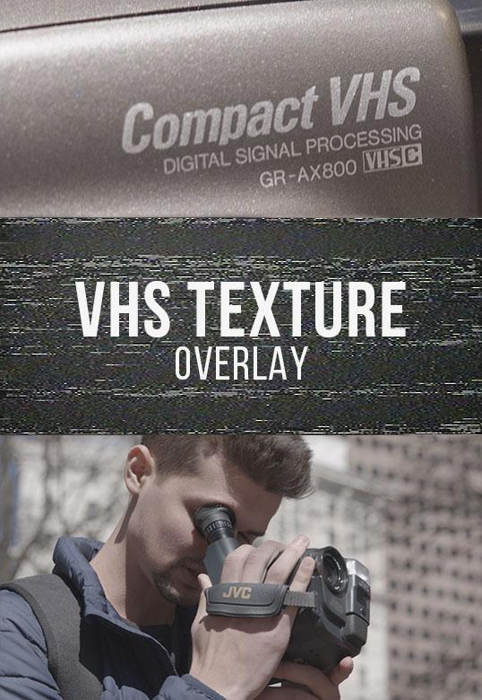 VHS OVERLAY PACK PRO[Master Filmmaker][Element]