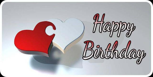 Happy birthday with heart images