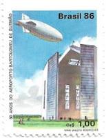 Selo Aeroporto Bartolomeu de Gusmão