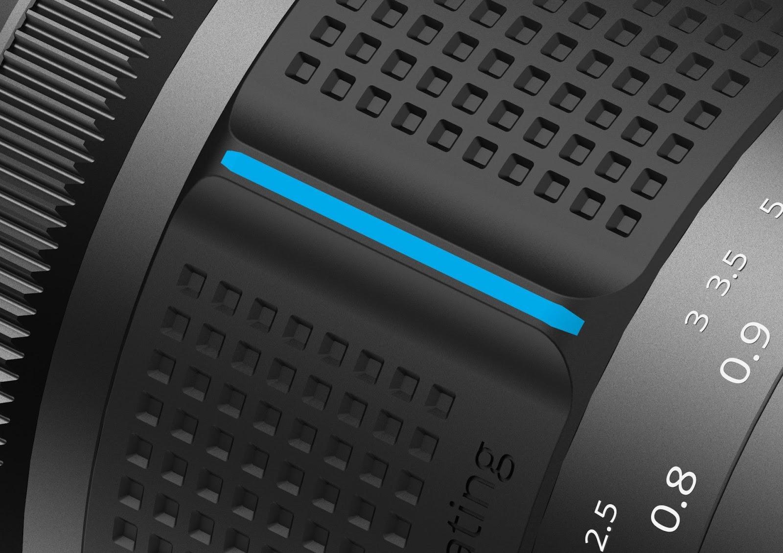 Кольцо фокусировки объектива Irix 45mm f/1.4
