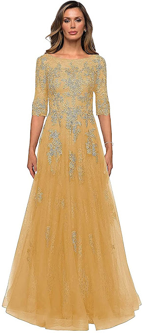 Good Quality Gold Mother of The Bride Dresses