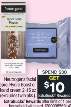 Neutrogena sale at cvs