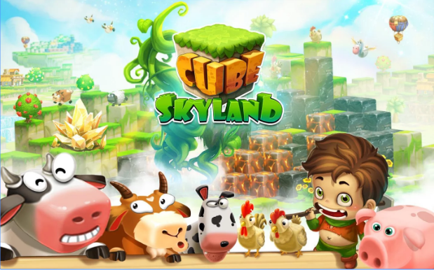 Cube Skyland: Farm Craft v1.1.238a Apk Mod [Dinero]