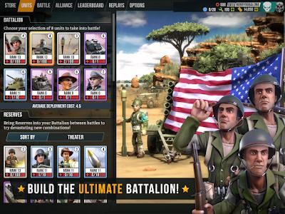 Download Battle Islands Commanders Mod Apk Unlimited Gold Money 1.4 Terbaru