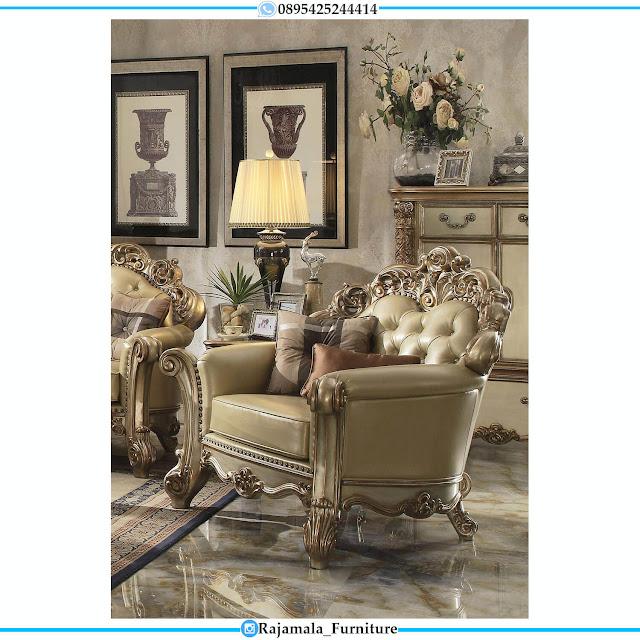 Harga Sofa Tamu Mewah Terbaru Ukiran Classic Luxury Furniture Jepara RM-0499