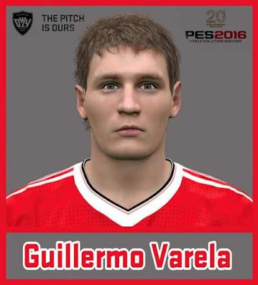 PES 2016 Varela Face 2016