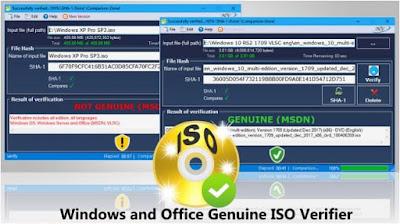 برنامج, فعال, للتحقق, من, اصدارات, نسخ, الويندوز, والاوفيس, الأصلية, Windows ,and ,Office ,Genuine ,ISO ,Verifier
