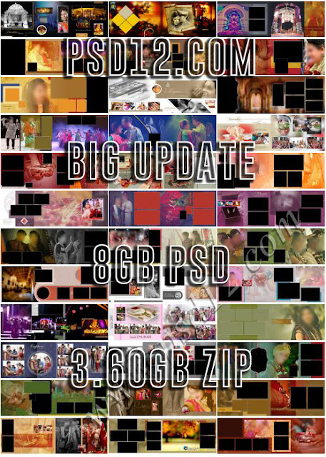 12x36 album PSD Big Update 8GB Data
