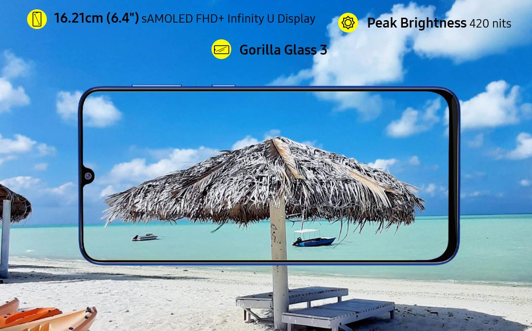 Nuovo Samsung Galaxy M31: fotocamera da 64MP e batteria da 6000 mAh