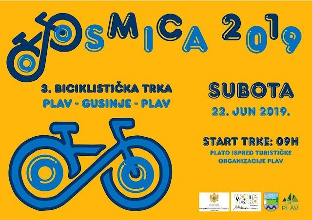 Sjutra biciklistička trka Plav-Gusinje-Plav