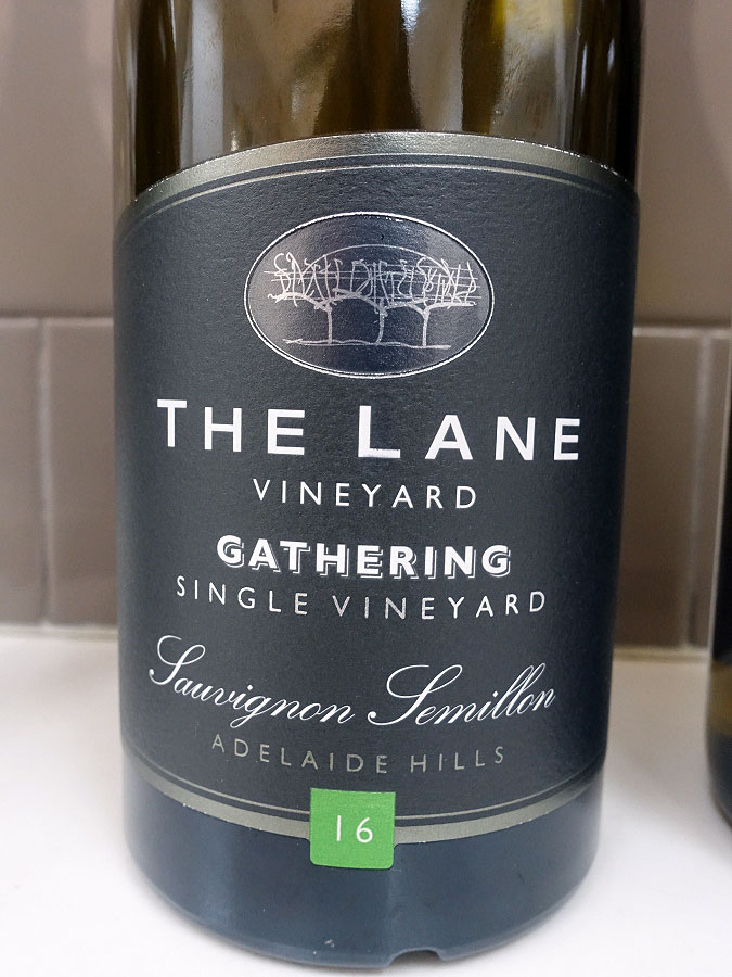 The Lane Gathering Single Vineyard Sauvignon/Semillon 2016 (91 pts)