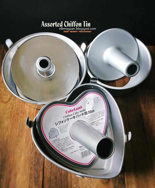 Assorted Chiffon Tins