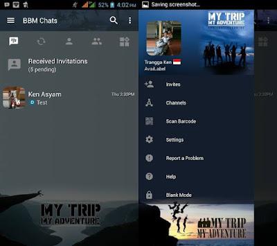 BBM Mod My Trip My Adventure v3.2.5.12 - CLONE