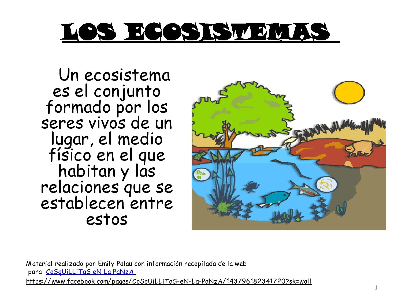 Resultado de imagen de ecosistemas