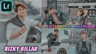 Preset Lightroom Selebgram Rizky Billar DNG & XMP