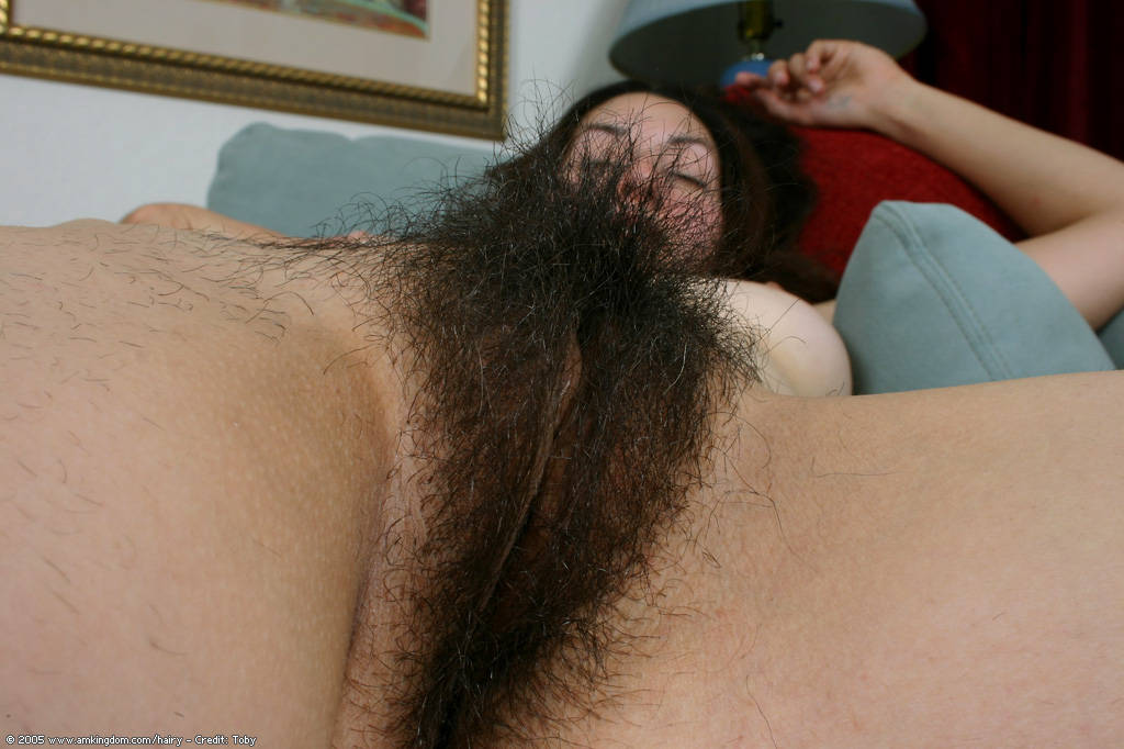 Extremely Hairy Indian Pussy-6686