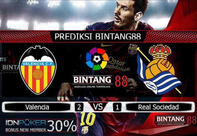 Prediksi Bola Valencia vs Real Sociedad 18 Agustus 2019