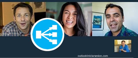 adjuntos en una reunión de Skype desde Outlook