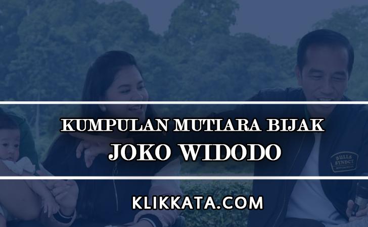 Kata Kata Joko Widodo