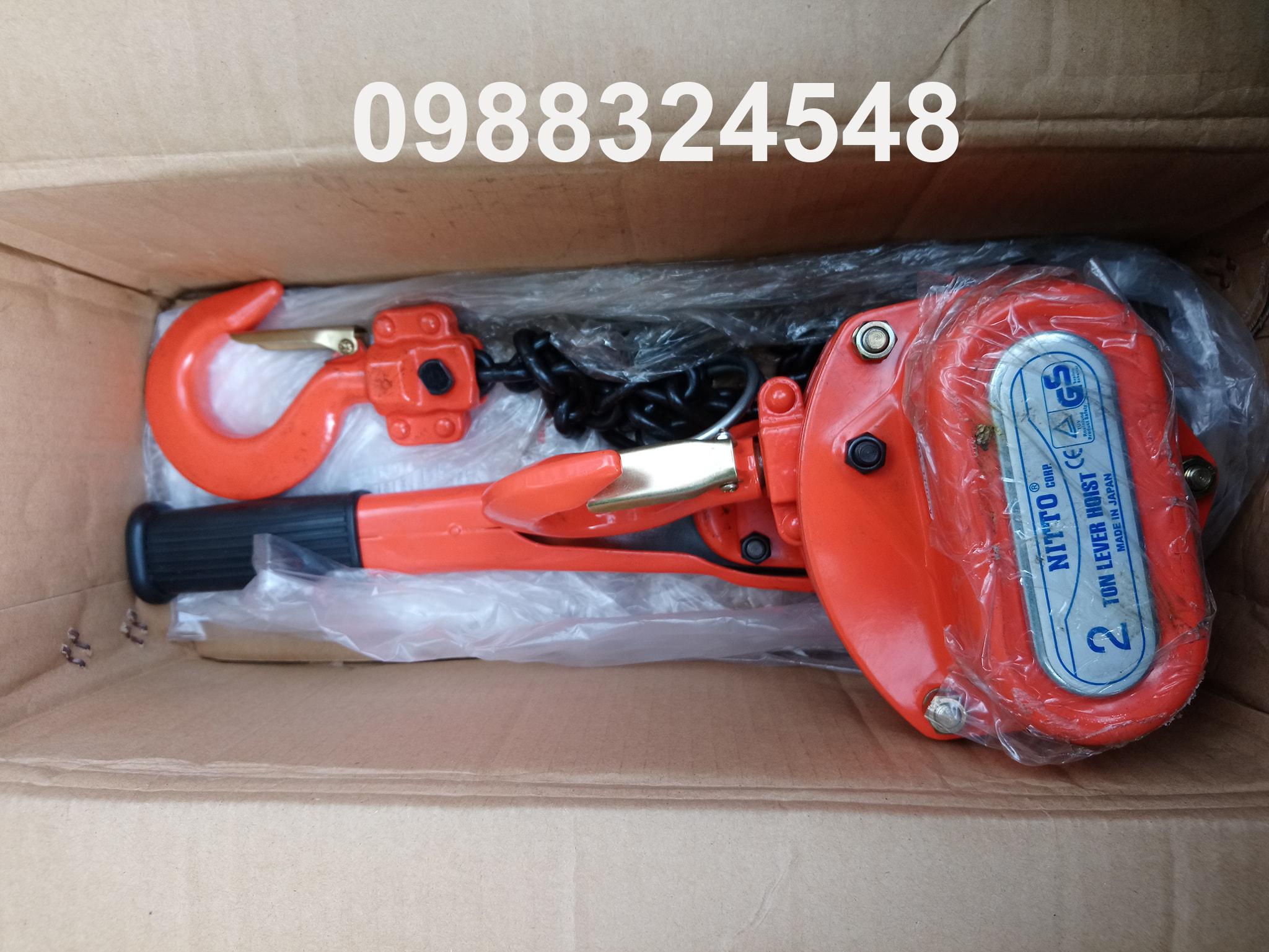 Pa lăng lắc tay Nitto VR-20, tải trọng: 2 tấn