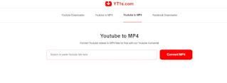 Convert YouTube ke mp4 Menggunakan YT1S -1