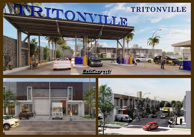 kawasan tritonville 3in1 daan mogot