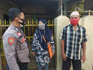 Ajak Jaga Kondusifitas Wilayah, Bhabinkamtibmas Polres Pelabuhan Makassar Rutin Sambangi Warga