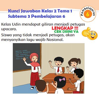 Kunci Jawaban Kelas 2 Tema 1 Subtema 3 Pembelajaran 6 www.simplenews.me