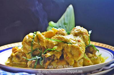 AMIE'S LITTLE KITCHEN: Ayam Masak Lemak Cili Padi.... resepi paling senang tapi sedap!