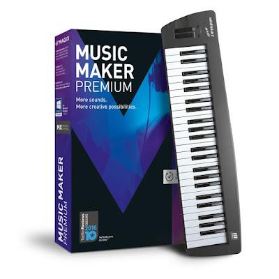 برنامج MAGIX Music Maker 2017 Premium 24.0.1.34 لصناعة الموسيقى