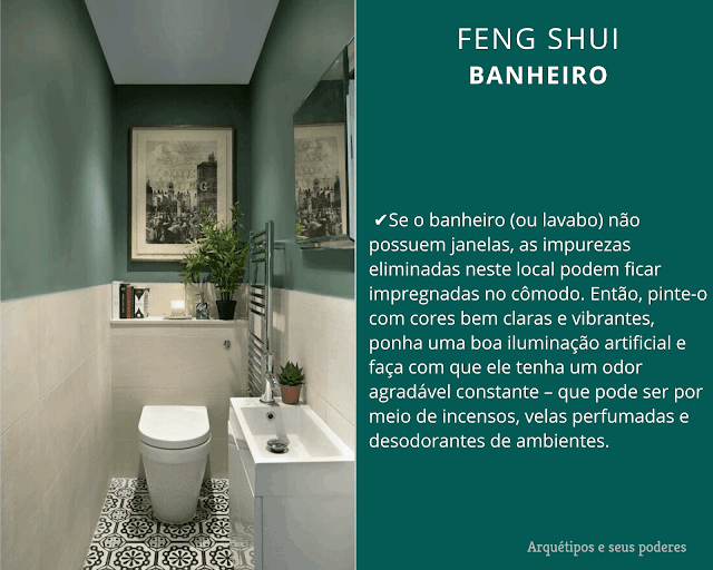 Banheiro e o Feng Shui