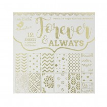 Forever and always-12x12-inch-stack-160gsm-12sheets