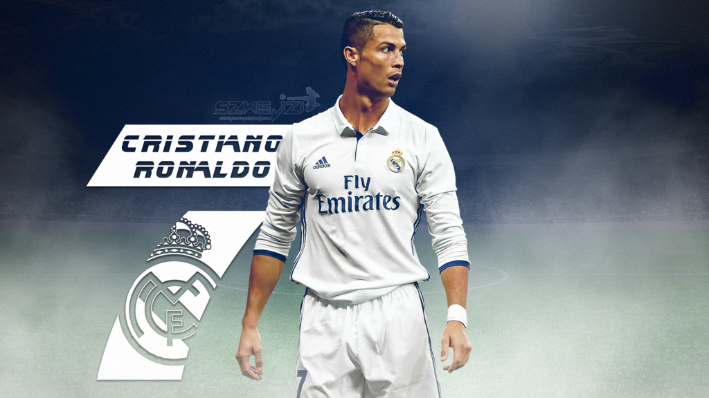Football Galaxy Cristiano Ronaldo 2017 Wallpaper Real Madrid Hd