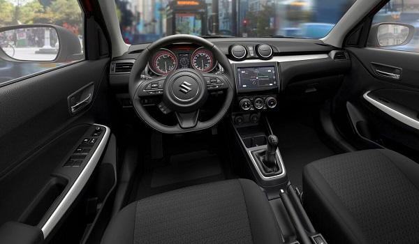 Interior nuevo Suzuki Swift