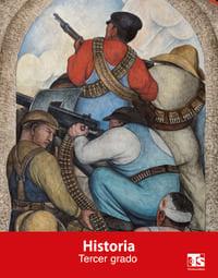 Libro de texto Telesecundaria Historia Tercer grado 2021-2022