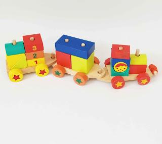 Mainan Kereta 123