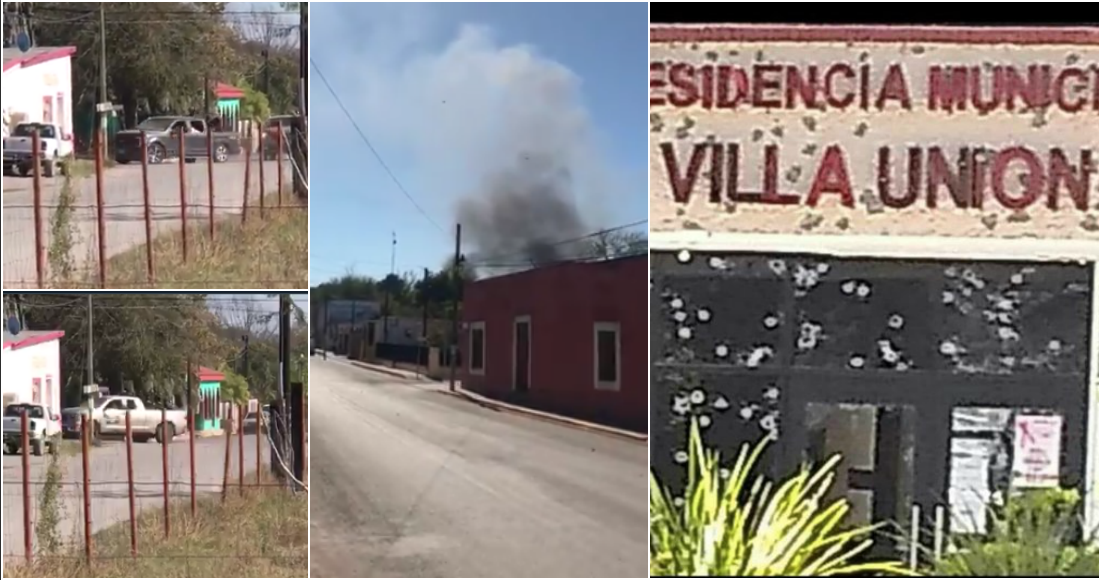 VIDEOS: Horas de terror cimbran a Coahuila: Convoy de empecherados del CDN se topan con la SEDENA y policías en Villa Unión